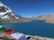 Image shows Tilicho Lake